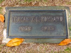 Thomas L Rowland