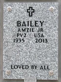 Pvt Amzie Bailey, Jr