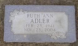 Ruth Ann Adler