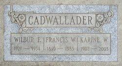 Karine Sigrid Oss <i>Wilbur</i> Cadwallader