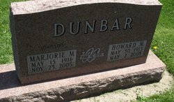 Marjorie M <i>Johnson</i> Dunbar
