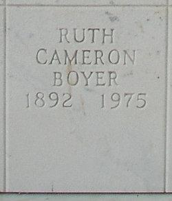 Ruth <i>Cameron</i> Boyer