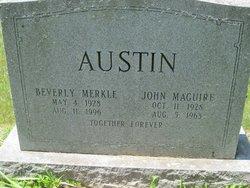 Beverly <i>Merkle</i> Austin