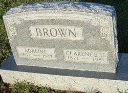 Adaline R. <i>James</i> Brown