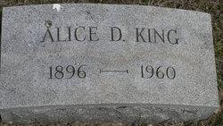 Alice D. King