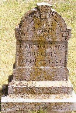 Martha Jane <i>Johnson</i> Mobley
