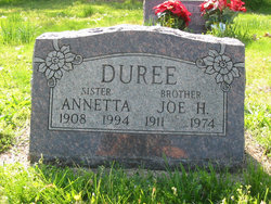 Annetta V Duree