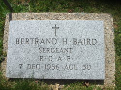 Bertrand Harewood Baird