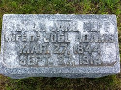 Susan Jane <i>Neff</i> Adams