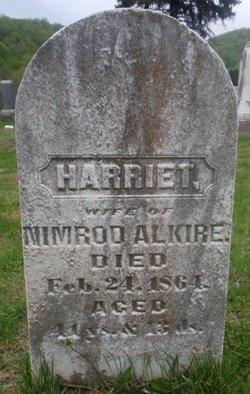 Harriet <i>Taylor</i> Alkire