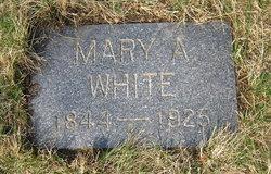 Mary A White