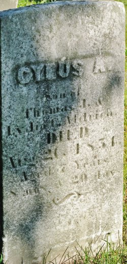 Cyrus A. Aldrich