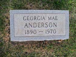 Georgia Mae <i>Tidball</i> Anderson