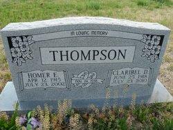 Claribel D <i>Baum</i> Thompson