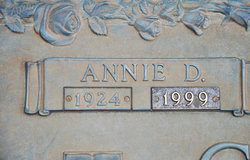 Annie Dodge <i>Creech</i> Carter