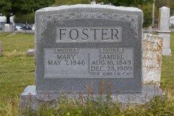 Mary <i>Cox</i> Foster