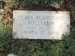 Clara Puella <i>Blanchard</i> Williams