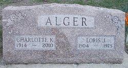 Charlotte Katherine <i>Grover</i> Alger
