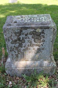 Augusta J <i>Boynton</i> Adkins