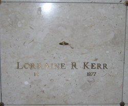 Lorraine <i>Roberts</i> Kerr