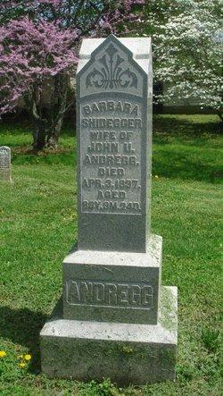 Barbara <i>Shidegger</i> Andregg