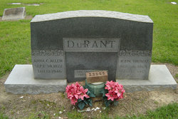 Anna C. <i>Allen</i> Durant