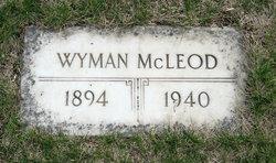 Wyman McLeod