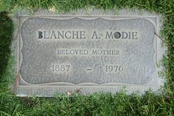 Blanche Anger Modie