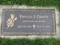 Phyllis J <i>Hern</i> Choate
