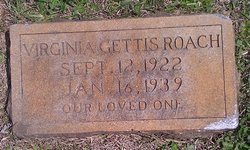 Virginia H <i>Gettis</i> Roach