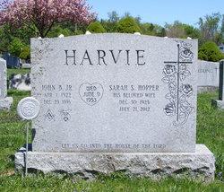Mrs Sarah Saunders <i>Hopper</i> Harvie