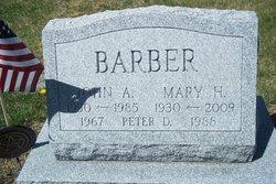Mary Jane <i>Hance</i> Barber