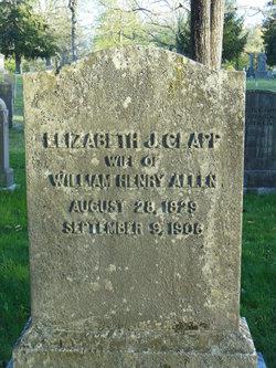 Elizabeth Johnson <i>Clapp</i> Allen