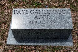 Faye <i>Gahlenbeck</i> Agee