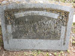 William Alfred Staudt, Sr