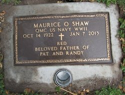 Maurice Overton Red Shaw