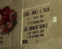 Col Jose Dominidor Bazan