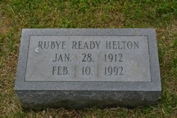 Rubye Ready Helton