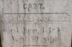 Capt Thomas Adams