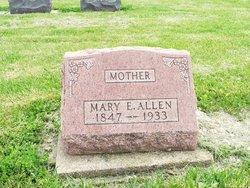 Mary <i>Elliott</i> Allen