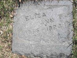 Eliza Ann <i>Kelley</i> King