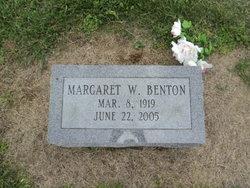 Margaret <i>Whitenack</i> Benton