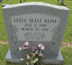 Leota <i>Seale</i> Baine