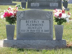 Beverly Perry <i>Plemmons</i> Huntley