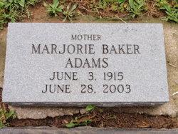 Marjorie <i>Baker</i> Adams