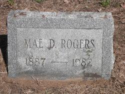 Mae D. <i>Pellett</i> Rogers