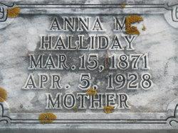 Anna Mathilda <i>Swanson</i> Halliday