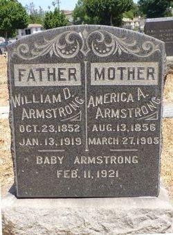 America Ann <i>Cooksey</i> Armstrong