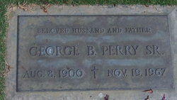 George Borges Perry, Sr