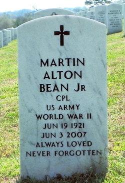 Martin Alton Bean, JR